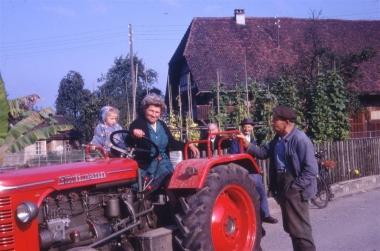 Pia Müller mit Eppisser und Alfred Meyer (Chüeferwebers)