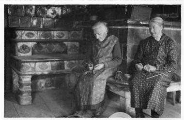 Frau Leuppi Gregoris und Frau Koch