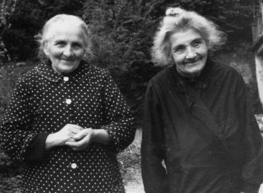 Rosa und Julia Meyer Döbelis